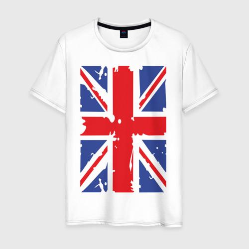 Мужская футболка хлопок Британский флаг