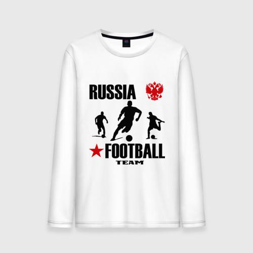 Мужской лонгслив хлопок Российская футбольная команда