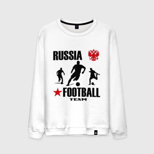 Мужской свитшот хлопок Российская футбольная команда
