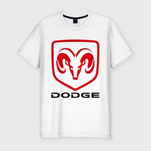 Мужская футболка хлопок Slim Dodge