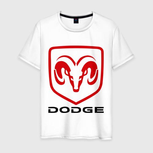 Мужская футболка хлопок Dodge