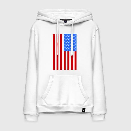 Мужская толстовка хлопок Американский флаг