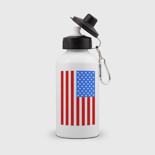 Бутылка спортивная Американский флаг