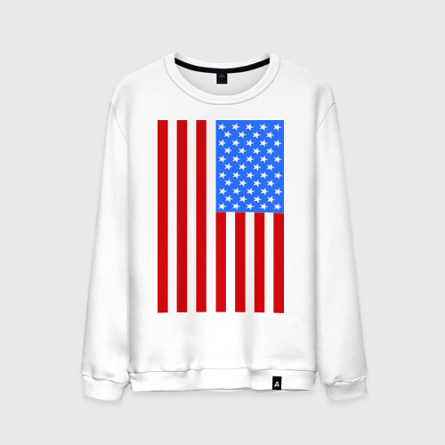Мужской свитшот хлопок Американский флаг