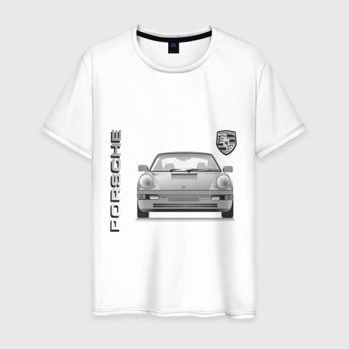 Мужская футболка хлопок Porsche (3)