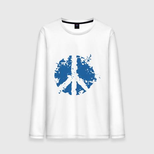 Мужской лонгслив хлопок Peace мир