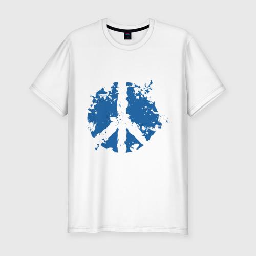 Мужская футболка хлопок Slim Peace мир