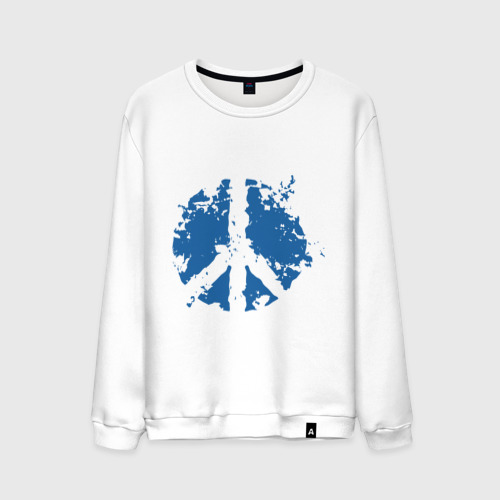 Мужской свитшот хлопок Peace мир