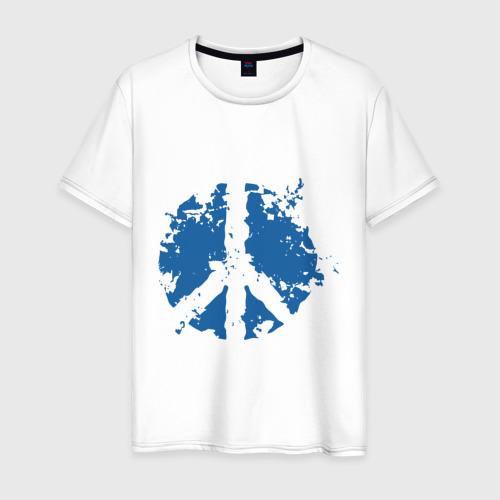 Мужская футболка хлопок Peace мир