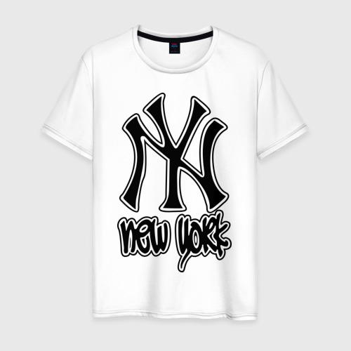 Мужская футболка хлопок New York (Нью Йорк)
