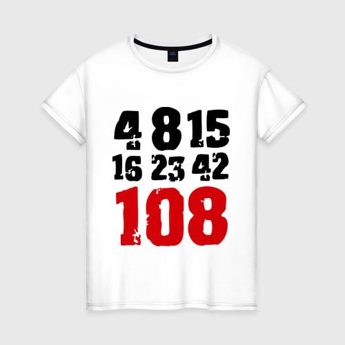 Женская футболка хлопок LOST (5)
