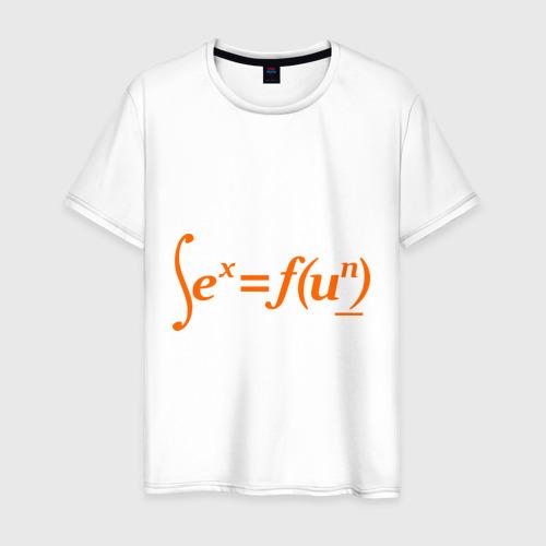 Мужская футболка хлопок Sex  Fun