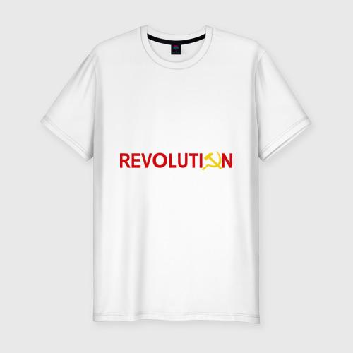 Мужская футболка хлопок Slim Revolution (3)