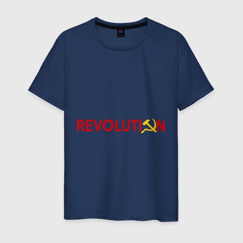 Мужская футболка хлопок Revolution (3)