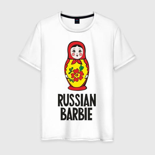 Мужская футболка хлопок Russian Barbie