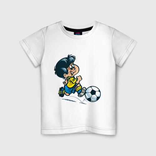 Детская футболка хлопок Футболист (5)