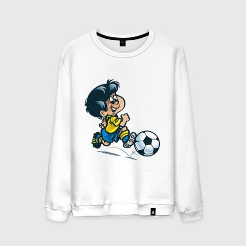 Мужской свитшот хлопок Футболист (5)