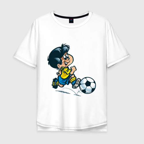 Мужская футболка хлопок Oversize Футболист (5)