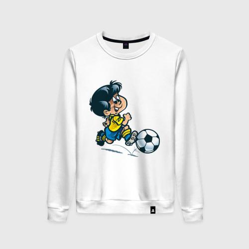 Женский свитшот хлопок Футболист (5)