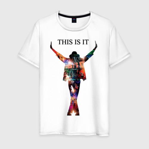 Мужская футболка хлопок Майкл Джексон - Вот и все