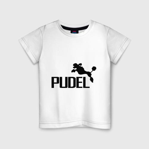 Детская футболка хлопок PUDEL