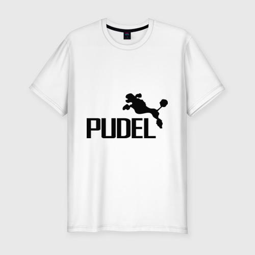 Мужская футболка хлопок Slim PUDEL
