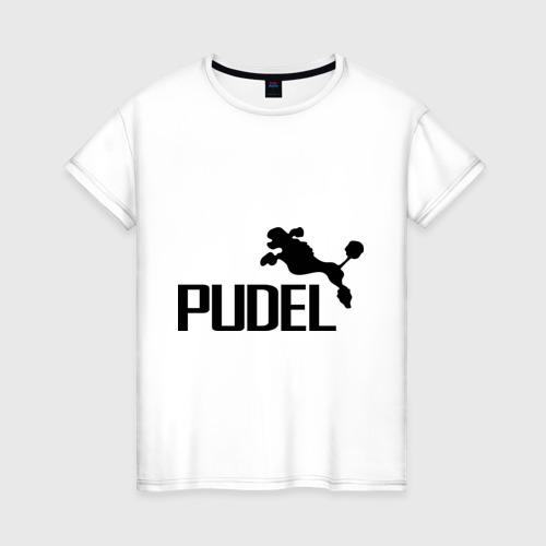 Женская футболка хлопок PUDEL