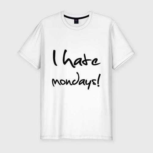 Мужская футболка хлопок Slim Нate mondays