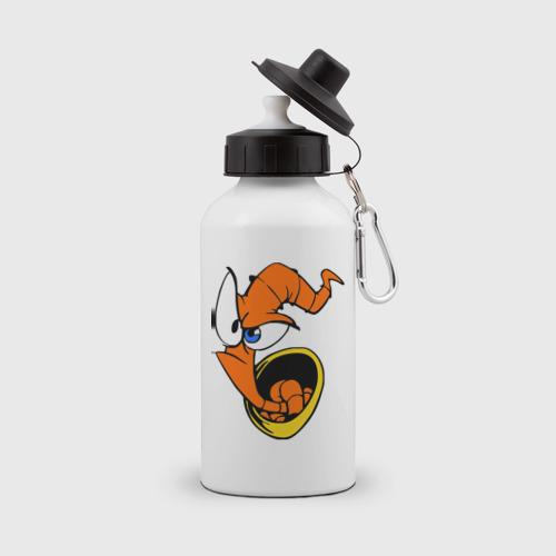 Бутылка спортивная Червяк Джим (Earthworm jimm)