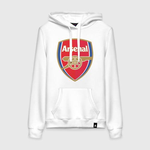 Женская толстовка хлопок FA Premier League. Arsenal FC.