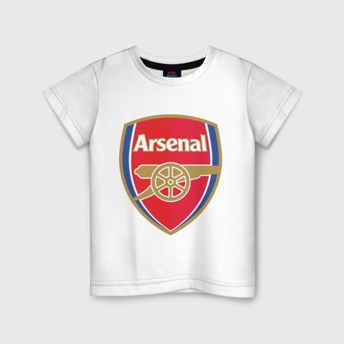 Детская футболка хлопок FA Premier League. Arsenal FC.