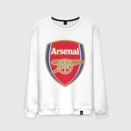 Мужской свитшот хлопок FA Premier League. Arsenal FC.