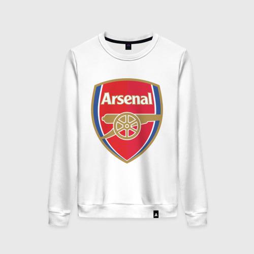 Женский свитшот хлопок FA Premier League. Arsenal FC.