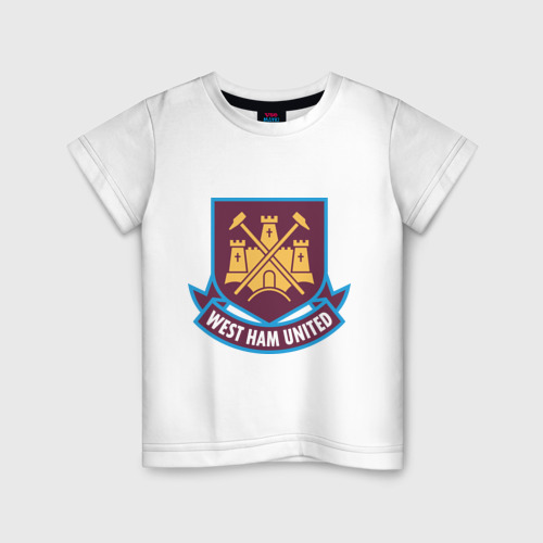 Детская футболка хлопок FA Premier League-West Ham United