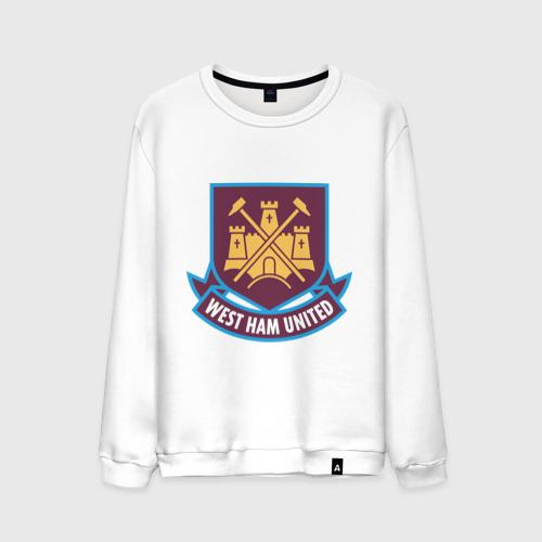 Мужской свитшот хлопок FA Premier League-West Ham United