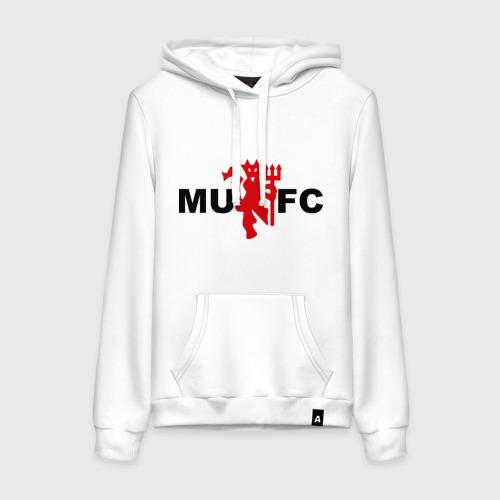 Женская толстовка хлопок Манчестер Юнайтед (manchester united)
