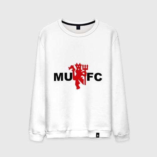 Мужской свитшот хлопок Манчестер Юнайтед (manchester united)