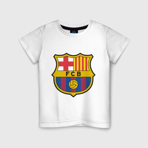 Детская футболка хлопок Spanish Primera. FC Barсelona