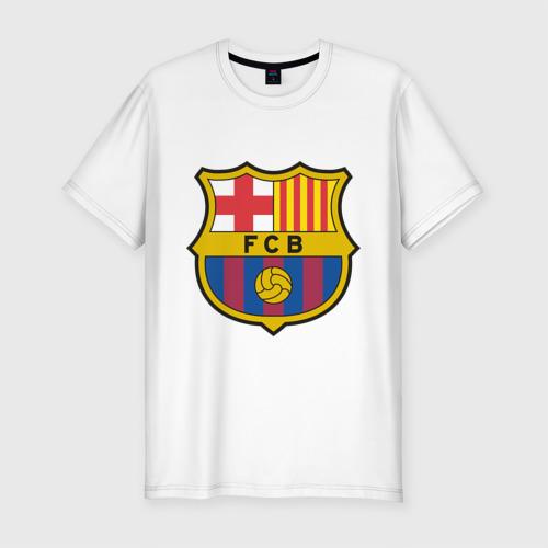 Мужская футболка премиум Spanish Primera. FC Barсelona