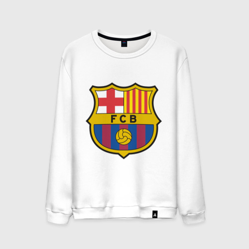 Мужской свитшот хлопок Spanish Primera. FC Barсelona