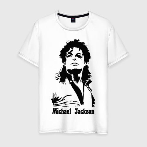 Мужская футболка хлопок Michael Jackson