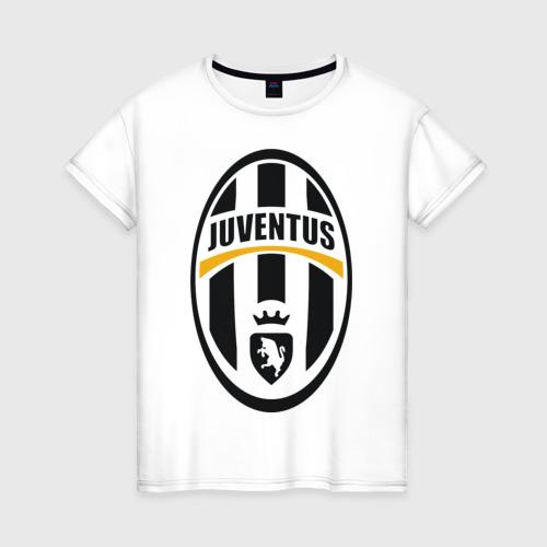 Женская футболка хлопок Italian Serie A. Juventus FC