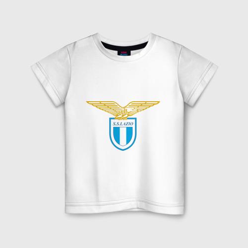 Детская футболка хлопок Italian Serie A. SS Lazio Roma