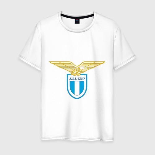Мужская футболка хлопок Italian Serie A. SS Lazio Roma