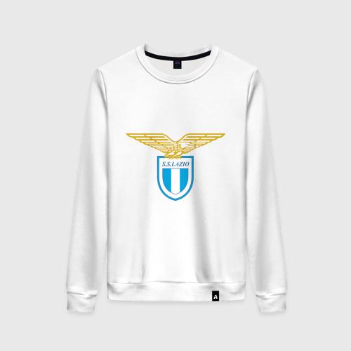 Женский свитшот хлопок Italian Serie A. SS Lazio Roma