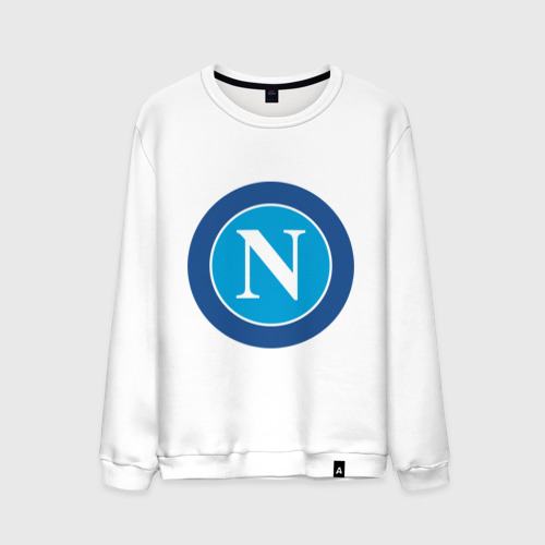 Мужской свитшот хлопок Italian Serie A. SSC Napoli