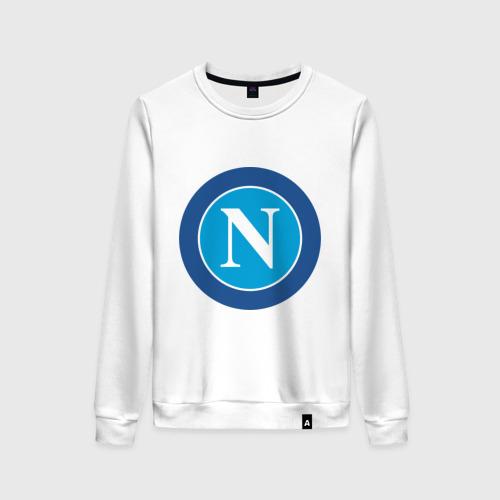 Женский свитшот хлопок Italian Serie A. SSC Napoli