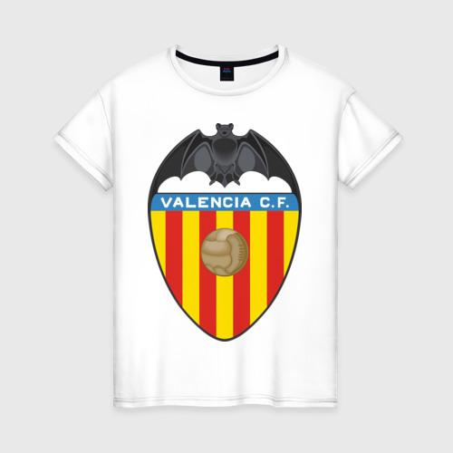 Женская футболка хлопок Spanish Primera. Valencia FC