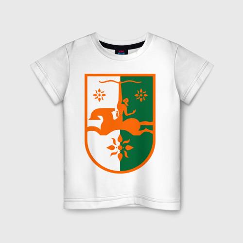 Детская футболка хлопок Абхазия