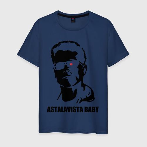 Мужская футболка хлопок Терминатор Astalavista Baby